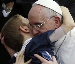 Pope Francis child sm