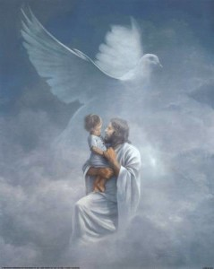 Jesus, child and Holy Spirit by ChristianaDesigns79 (Photobucket)