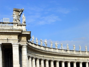 Vatican Round the St. Peter's Square (freeimages.com)