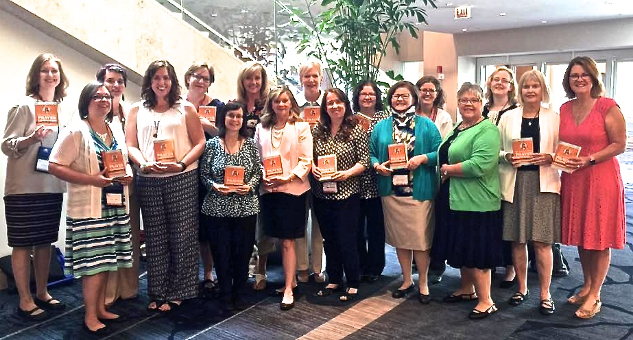 The Catholic Mom's Prayer Companion launch at Catholic Marketing Network Trade Show (Photo provided by Nancy Ward)