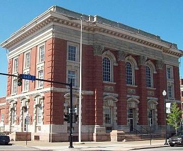 US Post Office Lockport, NY (Wikimedia Commons)
