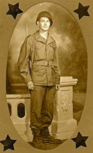 Pfc John Franklin Cook, 1944